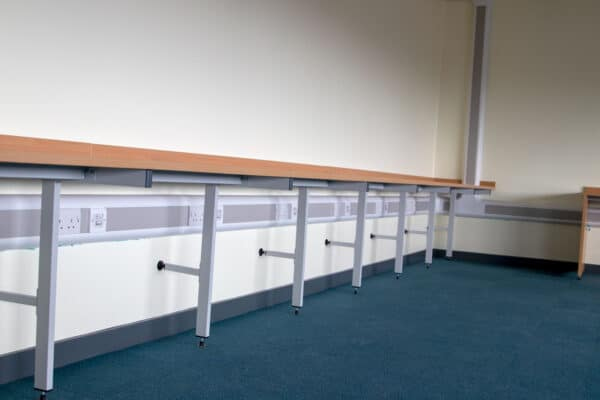 Three compartment dado trunking
