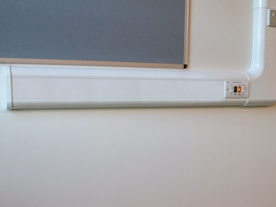 Dado Trunking 3 Compartment